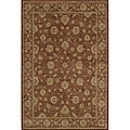 Preston Kashan Red Rug (7'10 x 9'10)