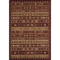 Preston Red Gabbeh Rug (2' x 3')