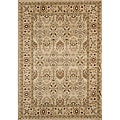 Power-Loomed Preston Garden Ivory Rug (5'3 x 7'6)