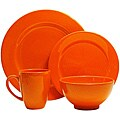 Waechtersbach Fun Factory Orange 4-piece Place Setting