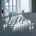 Game Night Chess or Checkers Marble Set