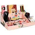 Paper Do-it-Yourself Pink Clean Up Box