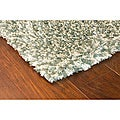 Manhattan Tweed Blue Shag Rug (6&#39;7 x 9&#39;6)
