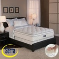 Serta Perfect Sleeper Conviction Euro Top Split Queen-size Mattress and Box Spring Set