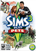 PC - The Sims 3 plus Pets - By Electronic Arts