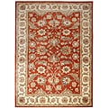 Hand-tufted Mahene Red Wool Rug (2'6 x 4')