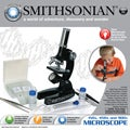 Smithsonian 150x/450x/900x Microscope Kit with Built-in Light