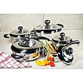 10-piece Stainless Steel Cookware Set