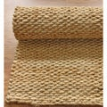 Handmade Luna Natural Jute Rug (8&#39; x 10&#39;)