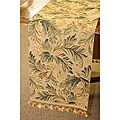 Botanical Print Italian Table Runner