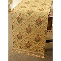 Pineapple Tapestry Italian Table Runner