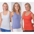 Yogacara Women&#39;s Assorted Ribbed Tank Tops (Pack of 2)