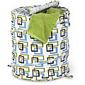 Honey-Can-Do HMP-01560 Brown/ Green Pop-up Hamper