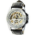 Monument Men&#39;s Skeletonized Automatic Watch