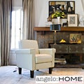 angelo:HOME Ennis Renu Leather Arm Chair
