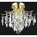 Crystal Gold 3-light 64986 Collection Chandelier
