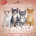 Paper House 'Row of Kittens' 500-piece Shaped Jigsaw Puzzle