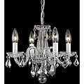 Crystal 62227 4-light Chrome Chandelier