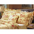 Antique Rose Quilted King-size Shams (Set of 2)