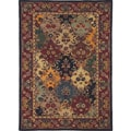 Hand-tufted Royal Garden Multicolor Floral Wool Rug (3'3 x 5'3)