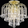 Crystal 3-light Gold Chandelier