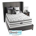 Beautyrest Classic Meyers Plush Firm Pillow Top Queen-size Mattress Set