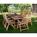 Genoa 9-piece Teak Dining Set