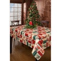 Calico Christmas 60x104-inch Rectangular Tablecloth