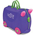 Melissa &amp; Doug Purple Trunki Iris Ride-on Luggage