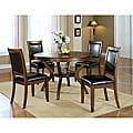 Dark Walnut 38-inch Dining Chairs (Set of 2)