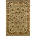 Berkley Green Traditional Area Rug (5'3 x 7'6)