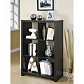 Cappuccino Wood 48-inch Room Divider Bookcase