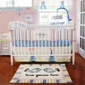 My Baby Sam Love Grows Here 4-piece Crib Bedding Set
