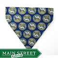 Ruff Stuff USA Blue 'Army Emblem' Dog Collar Bandana