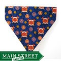 Ruff Stuff USA Blue 'Fire Fighter Emblem' Dog Collar Bandana