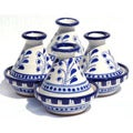 Azoura Design Mini 3-inch Serving Tagines (Set of 4)