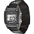 Freestyle Unisex 'Shark Clip' Black Nylon Strap Digital Watch