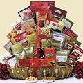 Magnificent Holiday Munchies Christmas Holiday Gourmet Gift Basket