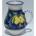 Citronique Design Ceramic 54-oz Pitcher (Tunisia)