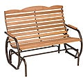 Country Garden Bronze Glider