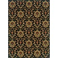 Berkley Green/ Beige Traditional Area Rug (9'10 x 12'9)