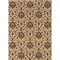 Berkley Beige/ Gold Traditional Area Rug (9'10 x 12'9)