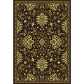 Brown/ Beige Traditional Area Rug (10' x 13')