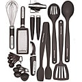 KitchenAid Black 17-piece