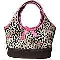 AnnLoren Leopard Rose Doll Carrier For American Girl Doll