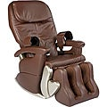 Dark Chocolate Deluxe WholeBody Massage Chair (Refurbished)