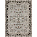 Primeval Tan/ Charcoal Oriental Rug (11&#39;2 x 14&#39;6)