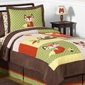 Sweet JoJo Designs 'Forest Friends' 4-Piece Twin Bedding Set