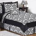 Sweet JoJo Designs &#39;Isabella&#39; Black 3-Piece Full/ Queen Bedding Set