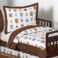 Sweet JoJo Designs Night Owl 5-piece Toddler Bedding Set